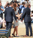 Sir Ben Ainslie, Catherine Middleton and Duchess Of Cambridge