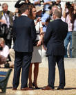 Catherine Middleton, Duchess Of Cambridge, Sir Ben Ainslie and Kate Middleton