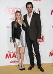 Majandra Delfino and David Walton