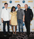 Michael Schur, Mindy Kaling, Rob McElhenney, Mike Judge, The Beverly Hilton Hotel, Beverly Hilton