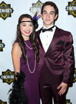 Veronica Merrell and Zachary Gordon