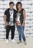 Alejandro Sanz and Raquel Perera