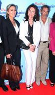Anne Sophie Lapix, Jacqueline Bisset and Gerard Lanvin