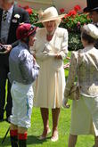 Frankie Dettori, Camilla, Duchess of Cornwall, Royal Ascot