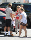 Gwen Stefani, Zuma Rossdale and Apollo Rossdale