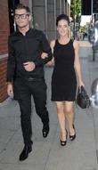 Stephanie Waring and Kieron Richardson