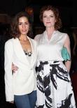Ana Ortiz and Rebecca Wisocky