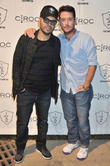 Richie Akiva and Kevin Connolly
