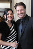 Michele Vega and Sean Kanan