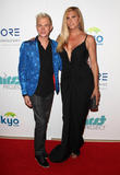 Candis Cayne and Andrew Gruver
