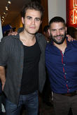 Paul Wesley and Guillermo Diaz