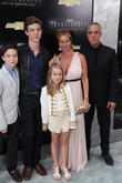 Titus Welliver and And Family