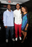 Jay Ellis and and his Parents