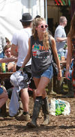 Cressida Bonas, Glastonbury Festival