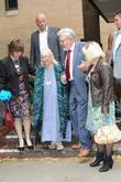 Rolf Harris, Bindi Harris and Alwen Hughes