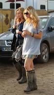 Lily James, Laura Carmichael, Glastonbury Festival