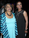 Lark Voorhies and Reatha Grey