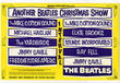 The Beatles Christmas Show and Concert Programmes