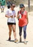 Lea Michele and Aubrey Dollar