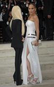 Jenifer Lopez and Donatella Versace