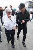 Jude Law and Bernie Ecclestone