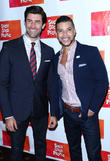 Adam Zelasko and Wilson Cruz