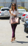 Jessica Alba attends a meeting in Beverly Hills