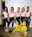 Lily Aldridge, Alessandra Ambrosio, Martha Hunt, Elsa Hosk, Lais Ribeiro, Soul Cycle in West Village, Victoria's Secret