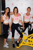 Lily Aldridge, Alessandra Ambrosio, Martha Hunt, Soul Cycle in West Village, Victoria's Secret
