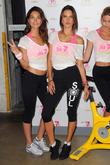 Lily Aldridge, Alessandra Ambrosio, Soul Cycle in West Village, Victoria's Secret