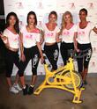 (l-r) Victoria's Secret Models Lily Aldridge, Alessandra Ambrosio, Martha Hunt, Elsa Hosk and Lais Ribeiro