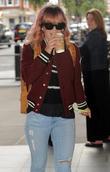 Lily Allen arrives at Radio 1