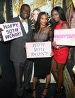 Dj Quick, Rochelle Aytes and Shannone Holt