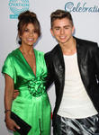 Paula Abdul and Michael Dameski