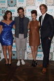 Kether Donahue, Desmin Borges, Aya Cash and Chris Geere