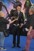UK premiere of 'Guardians of the Galaxy' held at the Empire cinema - Arrivals