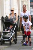 Gwen Stefani, Gavin Rossdale, Kingston Rossdale and Apollo Rosdale