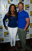Ian Ziering and Vivica A Fox
