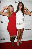Nikki Lund and Leilani Dowding
