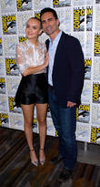 Olivia Cooke and Nestor Carbonell