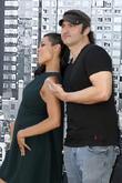 Rosario Dawson and Robert Rodriguez