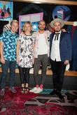 Neon Trees, Branden Campbell, Tyler Glenn, Chris Allen and Elaine Bradley