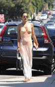 Alessandra Ambrosio out shopping with her daughter and friends in Brentwood
