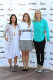 Natalie Imbruglia, Princess Beatrice of York and Holly Branson