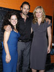 Julia Stiles, James Wirt and Jennifer Delia