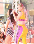 Iggy Azalea performs live on 'The Today Show'