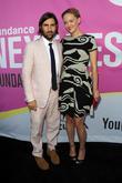 Jason Schwartzman and Jess Weixler