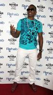 R&B singer Mario at Rehab Pool