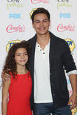 Ava Szymanski and Jake T. Austin