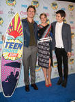Ansel Elgort, Shailene Woodley and Nat Wolff